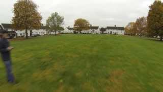ebay brushless gimbal gopro hero3 first test on DJI Phantom