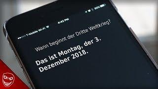 Siri sagt den dritten Weltkrieg am 3 Dezember voraus! Gruselige KI!