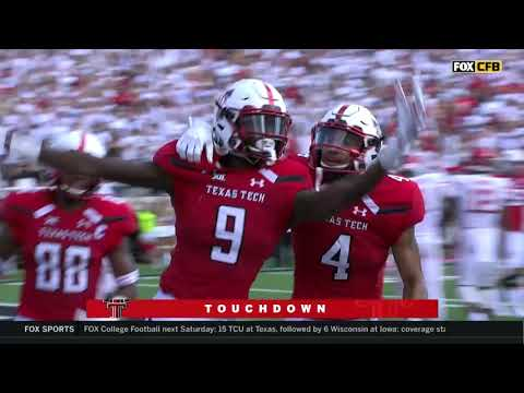 Texas Tech Football vs. Houston: Highlights | 2018