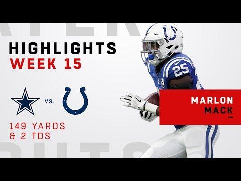 Marlon Mack's 149
