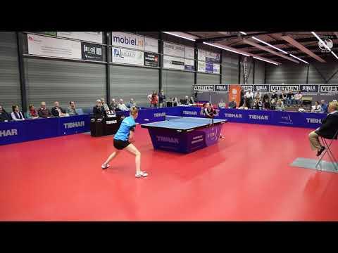 Li Jie - Kim Vermaas | Finale Dames Masters 2017