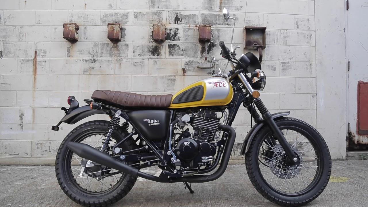 400cc Motorcycle Philippines >> Ace 400cc Scrambler 1m - YouTube
