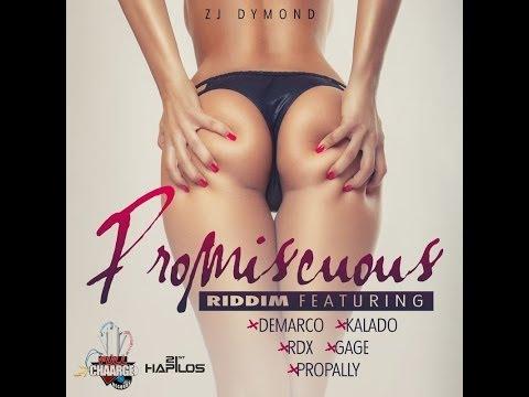 PROMISCUOUS RIDDIM MIX FT VYBZ KARTEL & SPICE (DJ SUPARIFIC) JUNE 2014