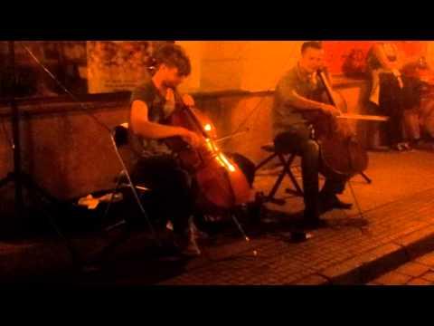 T&K DUO 2014 07 26 Klaipeda street music (parts 3)