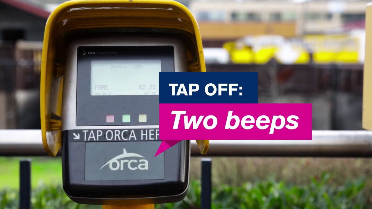 New beeps coming to an ORCA reader near you! | Sound Transit