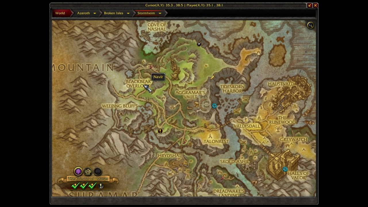 wow how to make world map bigger in legion