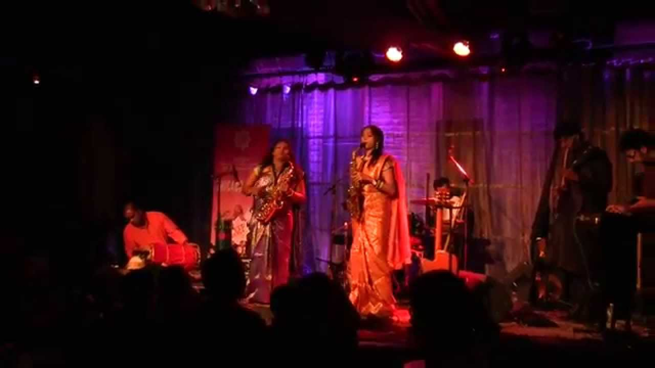 The Saxophone Sisters at the Eye on India Festival 2014