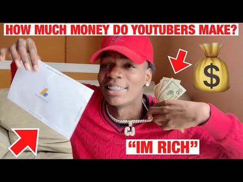 My First Youtube Paycheck + How To Make Money On Youtube 2019!