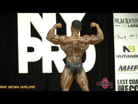 2019 IFBB NY Pro 2nd  Place Classic Physique Alex Cambronero Posing Routine