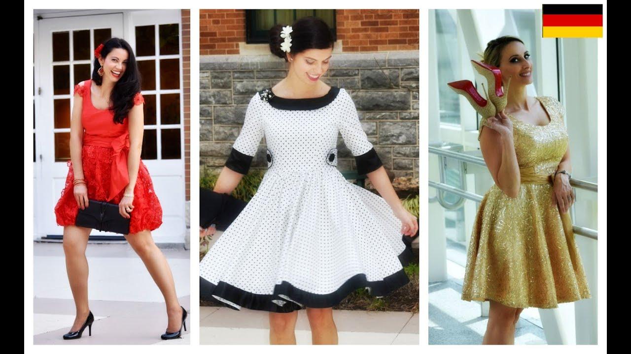 Ein Kleid nähen - Vivienne Schnittmuster erklärt - YouTube
