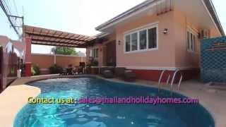 Pattaya Villa Rental - Asian Sunrise Villa - 4 beds
