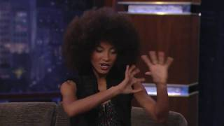 Esperanza Spalding NATURAL HAIR and special interview