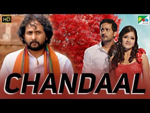 chandaal-|-full-kannada-hindi-dubbed-movie-|-srinagar-kitty,-meghana-raj