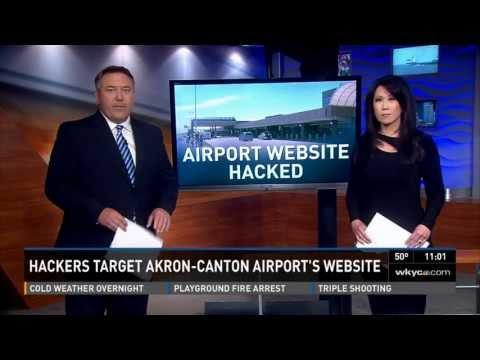 USA NEWS | Akron City Airport Hacked by TurkishAjan Hacker