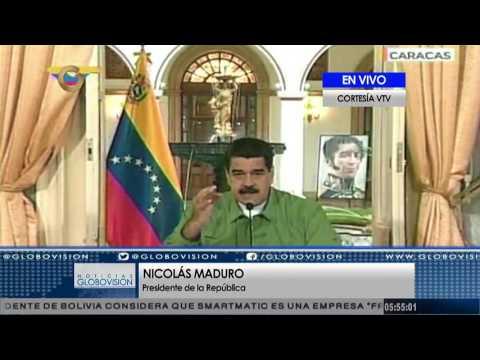 Maduro: Peña Nieto es un empleado maltratado y abusado por Trump