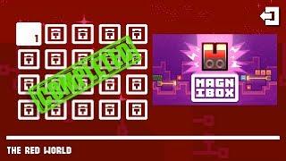Magnibox THE RED WORLD Level 1-20 Walkthrough