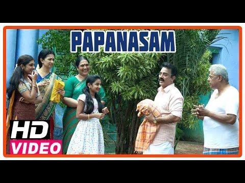 Papanasam Tamil Movie | Scenes | Kamal Haasan And Family Visits His In Laws House | Gautami