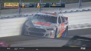 ARCA Racing Series 2017. Kansas Speedway. Austin Theriault Crash