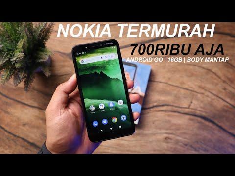 700ribuan dpt Smartphone Nokia Termurah!!Unboxing Nokia C1