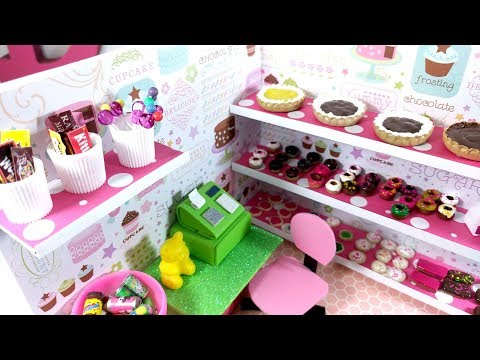 DIY Miniature Sweet Bakery Donut Shop