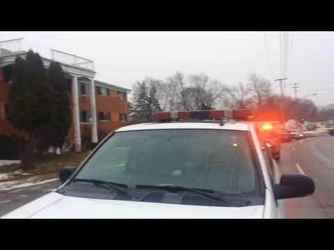 Fire at vacant Flint apartment complex
