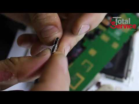 Ремонт планшетов Lenovo. Замена разъема в планшете