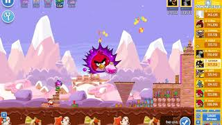 Angry Birds Friends/ SantaCoal i CandyClaus tournament, week 293/2, level 3