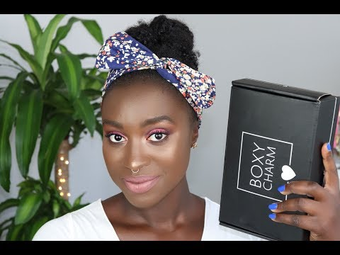 Chatty July Boxycharm Try on + Review: Does it work for dark skin??
