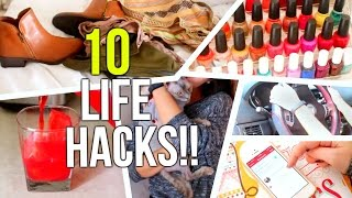 10 Life Hacks Every Girl Should Know | Courtney Lundquist