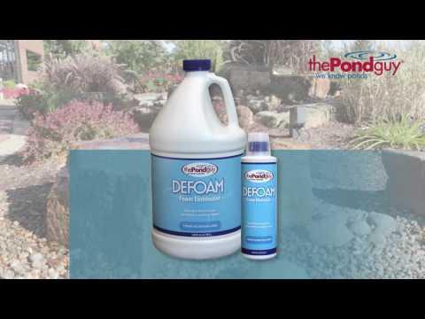 The Pond Guy® Defoam™ - Foam Eliminator