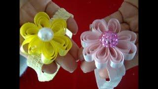 Como fazer tiara com florzinha