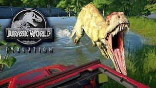Jurassic World Evolution Gameplay German #32 - Der erste Jurassic Park