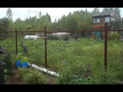 Забор своими руками 4 часть (фото)