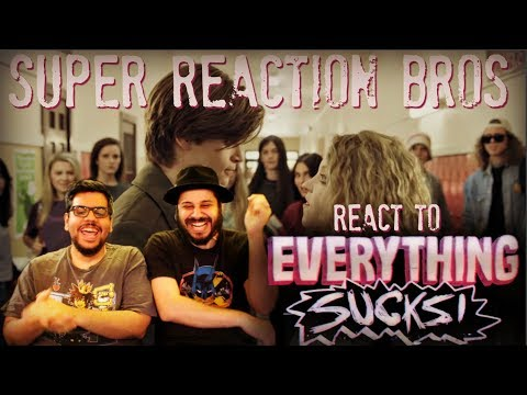 SRB Reacts to Everything Sucks! Official Netflix Trailer