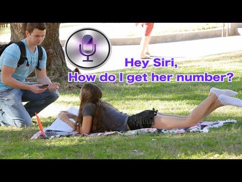 Using Siri To Pick Up GIRLS!!!