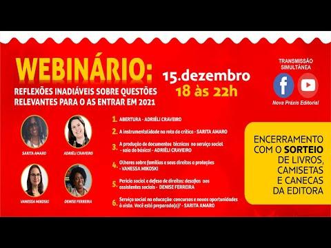 Live com sorteio: Instrumentalidade ,documentos técnicos ,perícia  e concursos no serviço social