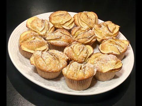 recette-facile-à-faire-avec-vos-enfants-les-mini-gâteaux-au-yaourt-pomme-cannelle