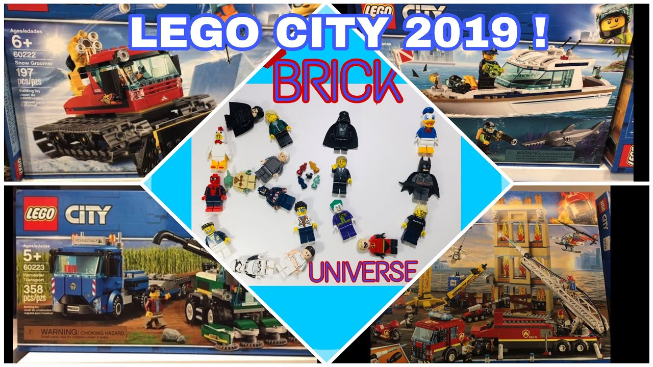 lego city 2019 sets images youtube. Black Bedroom Furniture Sets. Home Design Ideas