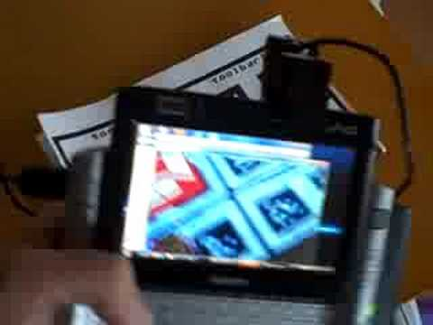 Augmented Reality using ARTag.net software