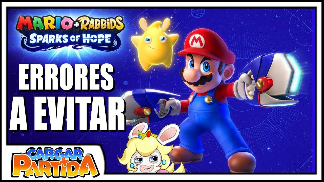 Los Problemas De Mario + Rabbids Kingdom Battle A Evitar En Sparks Of Hope 🌟 || CARGAR PARTIDA