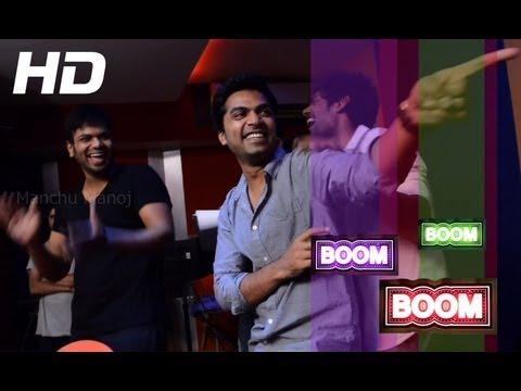Bujji Pilla Full Song Making HD  Potugadu Movie  Manchu Manoj, Simbu, Achu
