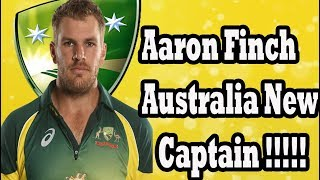 Australia New Capatain Name Confirm//Australia new captain confirm in 2018 for oneday and t20