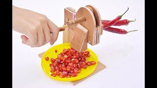 How to make a manual slicer, you can make it at home