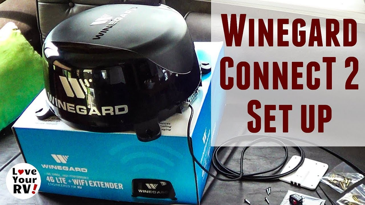 Setting Up My New Winegard Connect 20 Wifi 4g Lte Extender For Rv Antenna Wiring Diagram Rvs