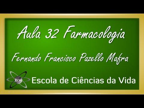 Farmacologia: Aula 32 - Agonistas adrenérgicos - efeitos gerais da adrenalina - parte 1
