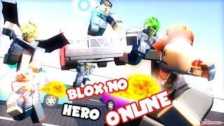 ROBLOX NO HERO - FIGHTS WITH SUPERPOWERS!!! - Spanish Gameplay