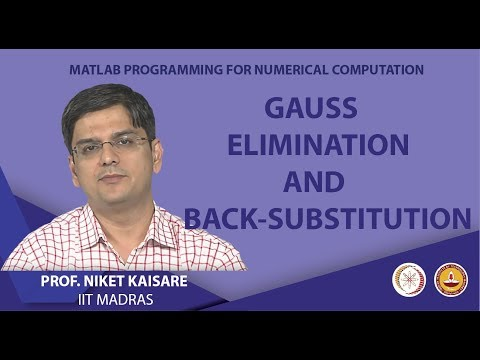 Gauss Elimination and Back-Substitution