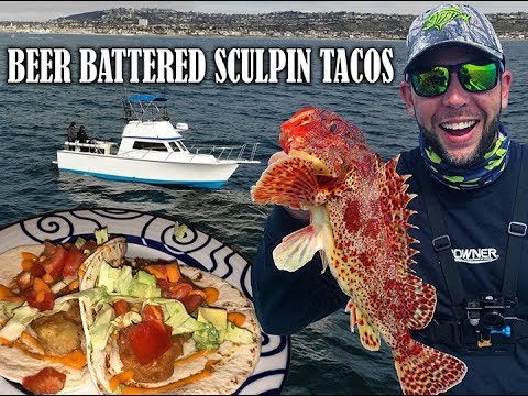 Rockfish Opener - HUGE Sculpin(CATCH And COOK!)
