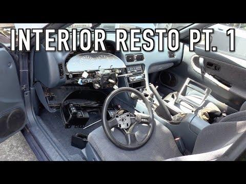 240SX Interior Restoration Part 1: Refreshing, Refurbishing