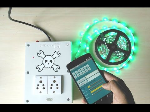 Smartphone Controlled Outlet smartphone controlled power outlet - youtube